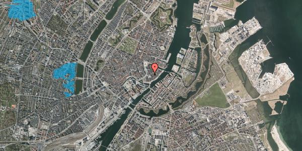 Oversvømmelsesrisiko fra vandløb på Tordenskjoldsgade 21, 3. tv, 1055 København K
