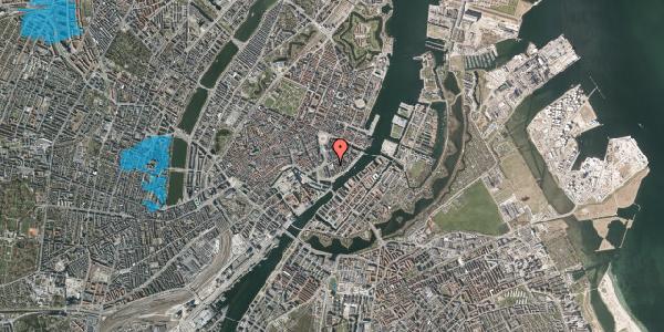 Oversvømmelsesrisiko fra vandløb på Tordenskjoldsgade 22A, 3. , 1055 København K