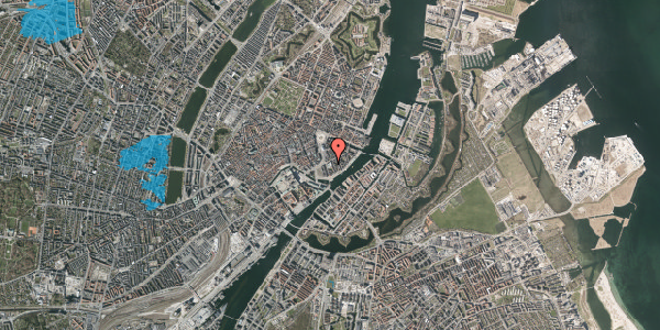 Oversvømmelsesrisiko fra vandløb på Tordenskjoldsgade 22A, 4. , 1055 København K