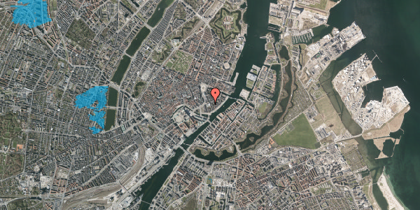 Oversvømmelsesrisiko fra vandløb på Tordenskjoldsgade 22, st. 3, 1055 København K