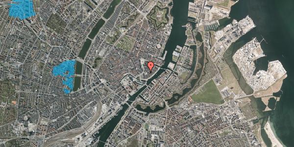 Oversvømmelsesrisiko fra vandløb på Tordenskjoldsgade 22, 1. th, 1055 København K