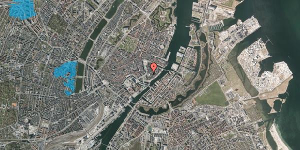 Oversvømmelsesrisiko fra vandløb på Tordenskjoldsgade 22, 3. tv, 1055 København K