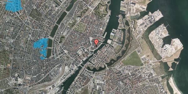Oversvømmelsesrisiko fra vandløb på Tordenskjoldsgade 24, 3. th, 1055 København K