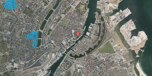 Oversvømmelsesrisiko fra vandløb på Tordenskjoldsgade 25, 2. tv, 1055 København K