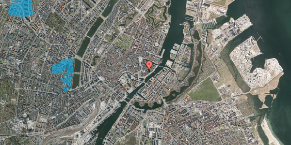 Oversvømmelsesrisiko fra vandløb på Tordenskjoldsgade 26, 2. tv, 1055 København K