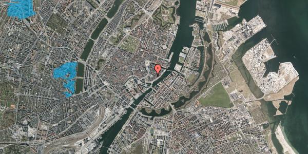 Oversvømmelsesrisiko fra vandløb på Tordenskjoldsgade 27, 1. th, 1055 København K