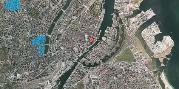 Oversvømmelsesrisiko fra vandløb på Tordenskjoldsgade 28, 3. th, 1055 København K