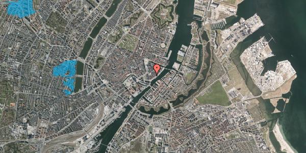Oversvømmelsesrisiko fra vandløb på Tordenskjoldsgade 31, 3. th, 1055 København K