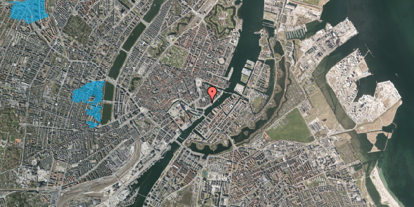 Oversvømmelsesrisiko fra vandløb på Tordenskjoldsgade 32, st. th, 1055 København K