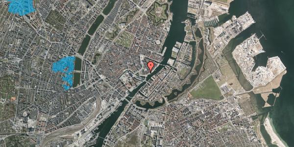 Oversvømmelsesrisiko fra vandløb på Tordenskjoldsgade 34A, 1. , 1055 København K