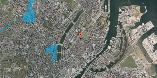 Oversvømmelsesrisiko fra vandløb på Tornebuskegade 3, st. , 1131 København K