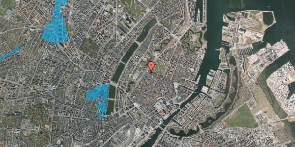Oversvømmelsesrisiko fra vandløb på Tornebuskegade 3, 1. , 1131 København K