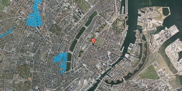 Oversvømmelsesrisiko fra vandløb på Tornebuskegade 7, 1. , 1131 København K