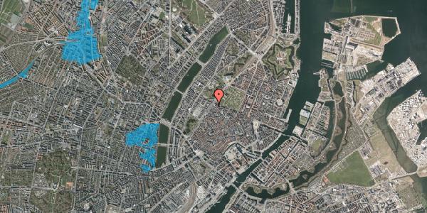 Oversvømmelsesrisiko fra vandløb på Tornebuskegade 9, st. tv, 1131 København K