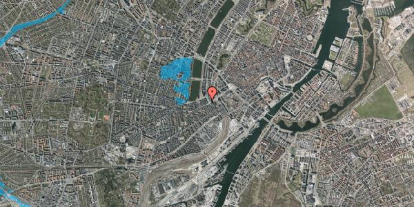Oversvømmelsesrisiko fra vandløb på Trommesalen 1, kl. , 1614 København V
