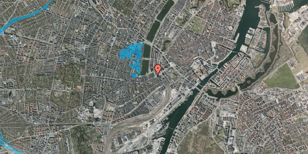 Oversvømmelsesrisiko fra vandløb på Trommesalen 1, 5. 3, 1614 København V