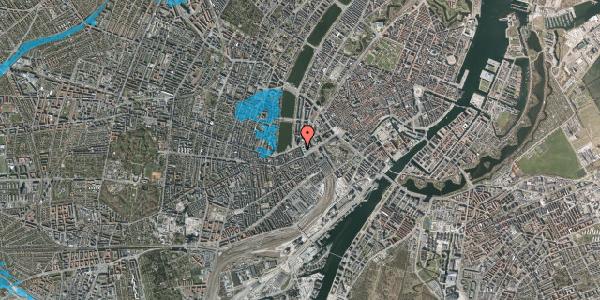 Oversvømmelsesrisiko fra vandløb på Trommesalen 7, 2. tv, 1614 København V