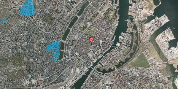 Oversvømmelsesrisiko fra vandløb på Valkendorfsgade 15, 1. , 1151 København K