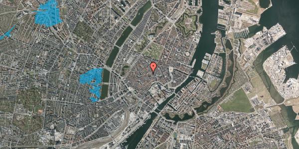 Oversvømmelsesrisiko fra vandløb på Valkendorfsgade 16, 1. , 1151 København K