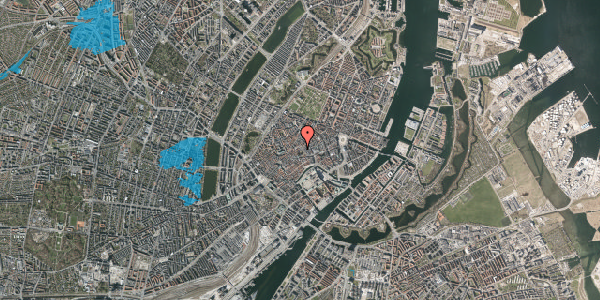 Oversvømmelsesrisiko fra vandløb på Valkendorfsgade 16, 3. , 1151 København K