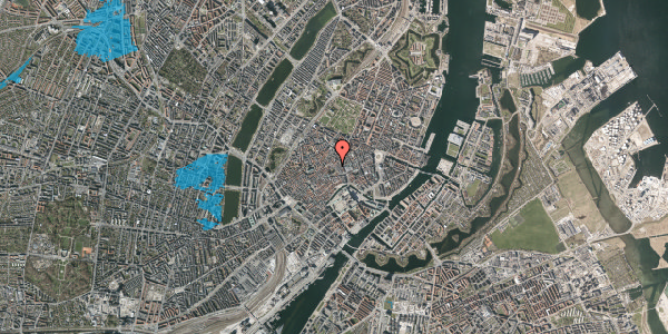 Oversvømmelsesrisiko fra vandløb på Valkendorfsgade 19, st. tv, 1151 København K