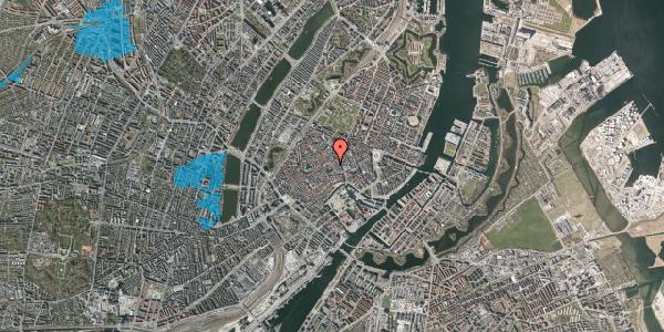Oversvømmelsesrisiko fra vandløb på Valkendorfsgade 19, 1. , 1151 København K