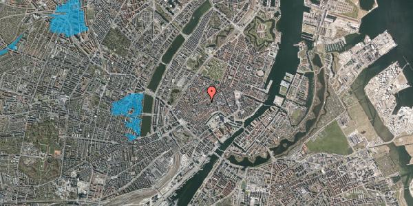 Oversvømmelsesrisiko fra vandløb på Valkendorfsgade 22, kl. tv, 1151 København K