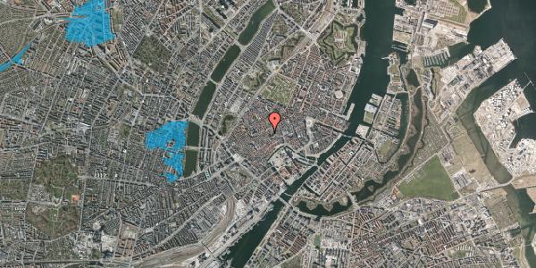 Oversvømmelsesrisiko fra vandløb på Valkendorfsgade 30, 3. , 1151 København K