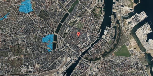 Oversvømmelsesrisiko fra vandløb på Valkendorfsgade 32, kl. , 1151 København K