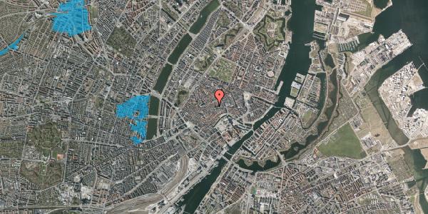 Oversvømmelsesrisiko fra vandløb på Valkendorfsgade 36, 1. , 1151 København K