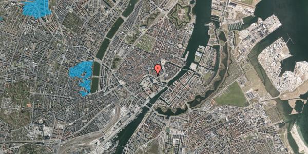 Oversvømmelsesrisiko fra vandløb på Ved Stranden 8, kl. , 1061 København K