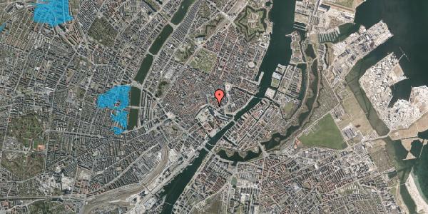 Oversvømmelsesrisiko fra vandløb på Ved Stranden 10, st. , 1061 København K