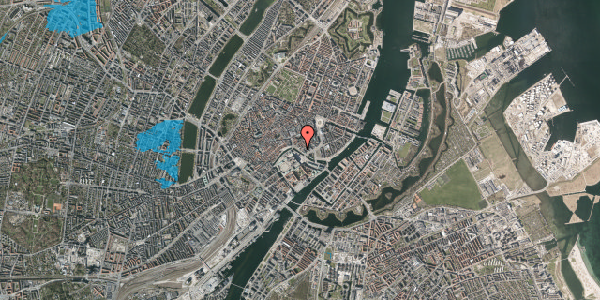Oversvømmelsesrisiko fra vandløb på Ved Stranden 10, 3. , 1061 København K