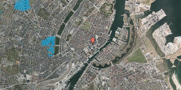 Oversvømmelsesrisiko fra vandløb på Ved Stranden 14, 3. , 1061 København K
