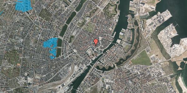 Oversvømmelsesrisiko fra vandløb på Ved Stranden 16, kl. , 1061 København K