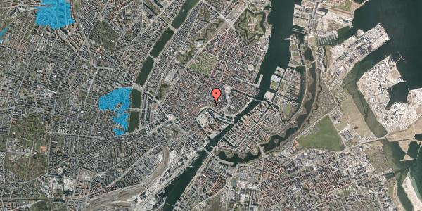 Oversvømmelsesrisiko fra vandløb på Ved Stranden 20, st. 2, 1061 København K