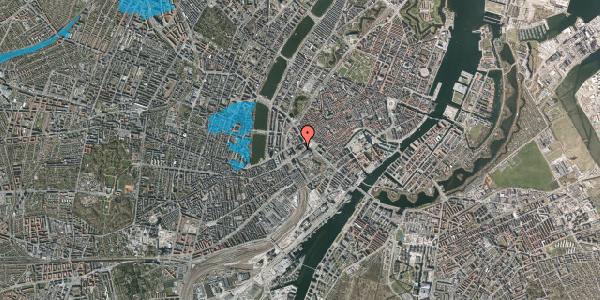 Oversvømmelsesrisiko fra vandløb på Vesterbrogade 2D, 3. , 1620 København V