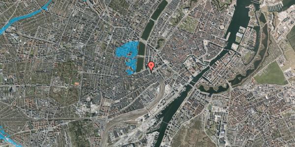 Oversvømmelsesrisiko fra vandløb på Vesterbrogade 14A, 4. th, 1620 København V