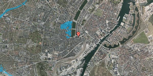 Oversvømmelsesrisiko fra vandløb på Vesterbrogade 14B, 3. tv, 1620 København V