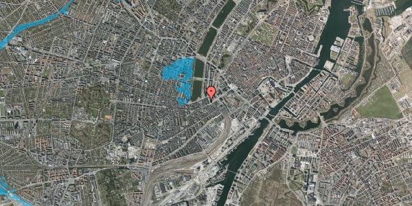 Oversvømmelsesrisiko fra vandløb på Vesterbrogade 14, 4. th, 1620 København V