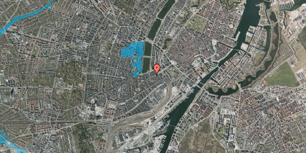 Oversvømmelsesrisiko fra vandløb på Vesterbrogade 16, 1. , 1620 København V