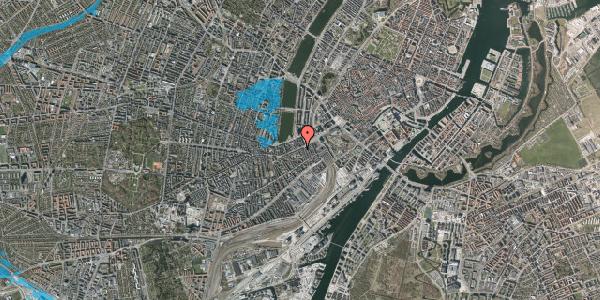 Oversvømmelsesrisiko fra vandløb på Vesterbrogade 17, 3. th, 1620 København V