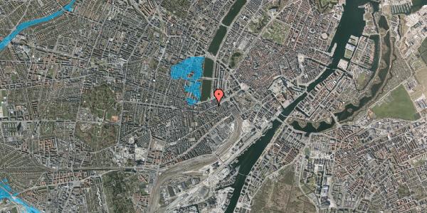 Oversvømmelsesrisiko fra vandløb på Vesterbrogade 18, 3. tv, 1620 København V