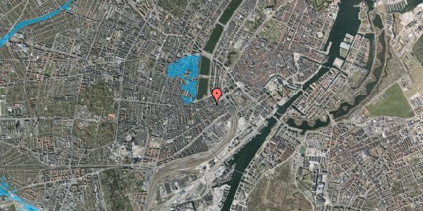Oversvømmelsesrisiko fra vandløb på Vesterbrogade 19, st. 4, 1620 København V