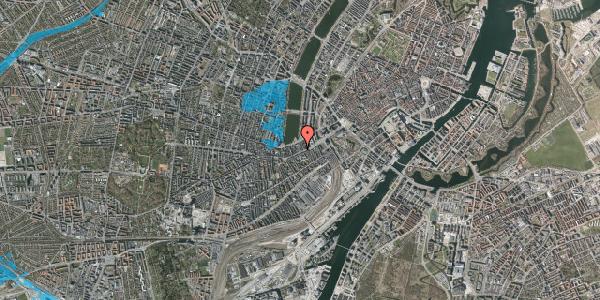 Oversvømmelsesrisiko fra vandløb på Vesterbrogade 20A, 2. tv, 1620 København V
