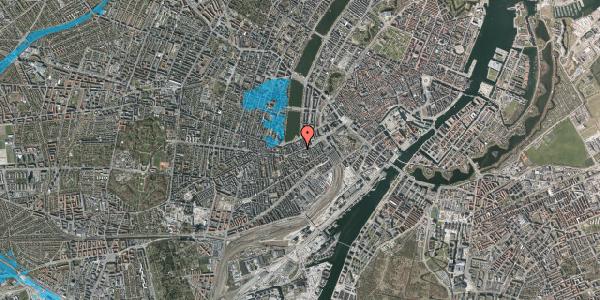 Oversvømmelsesrisiko fra vandløb på Vesterbrogade 22, 4. th, 1620 København V