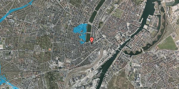 Oversvømmelsesrisiko fra vandløb på Vesterbrogade 24A, 4. tv, 1620 København V