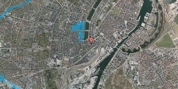 Oversvømmelsesrisiko fra vandløb på Vesterbrogade 29A, 1. tv, 1620 København V