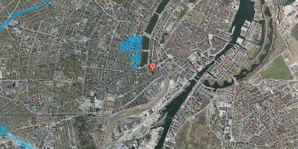 Oversvømmelsesrisiko fra vandløb på Vesterbrogade 29B, 2. th, 1620 København V