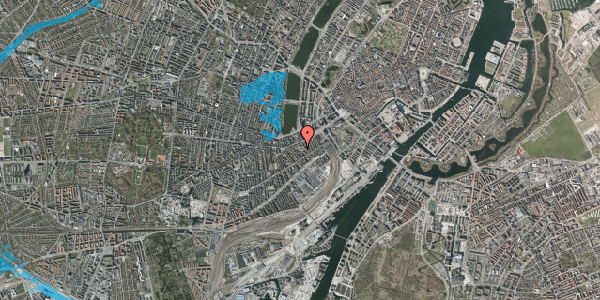 Oversvømmelsesrisiko fra vandløb på Vesterbrogade 29B, 4. th, 1620 København V